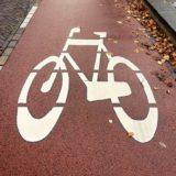 fahrradweg - hier müssen e-scooter fahren