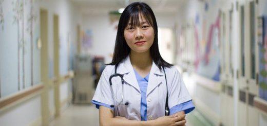 Berufsbekleidung Ärztin